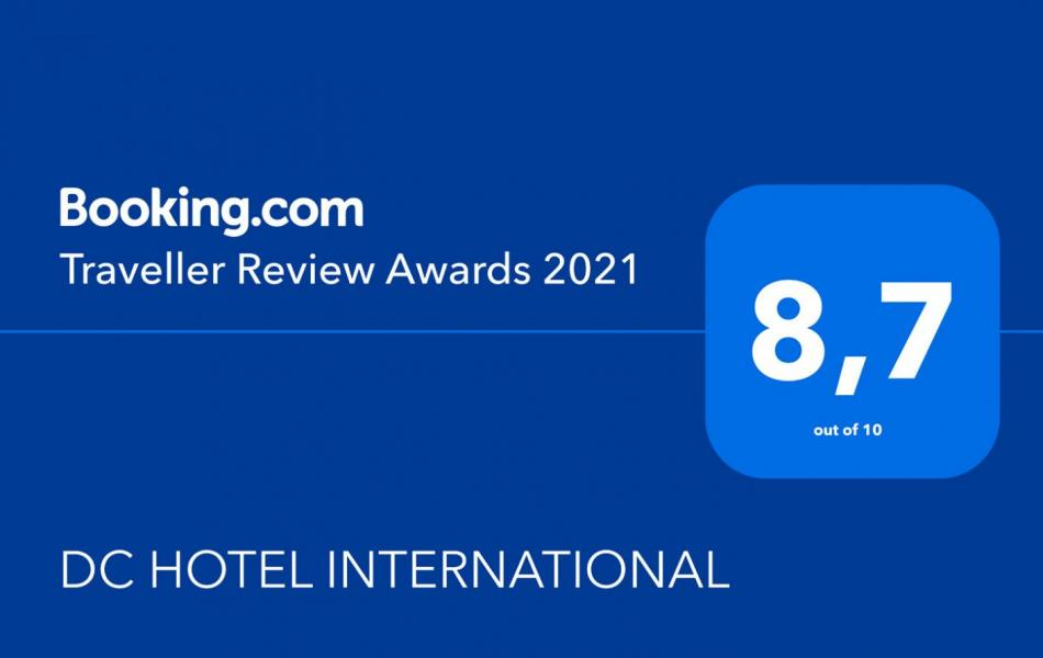 DC Hotel Padova traveller review awards Booking.com